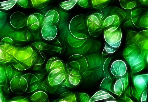 Abstract Green Background by Somkiet Chanumporn
