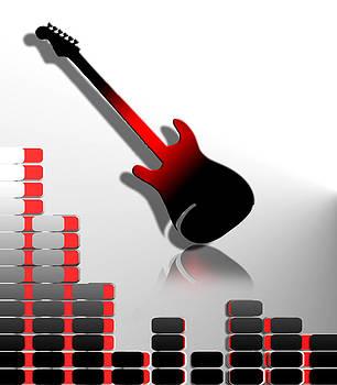 Abstract Guitar by Jak Sundar