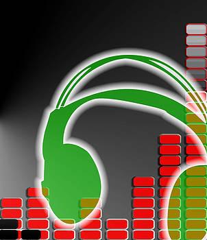 Abstract Headphones by Jak Sundar