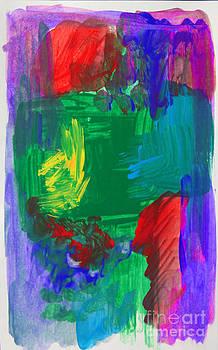 Anne Cameron Cutri - Abstract High Five