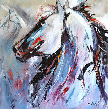 Abstract Horse 5 by Cher Devereaux