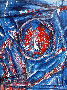 Abstract in relief by Fatima Hameurlaine