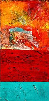 Abstract Landscape I by Carolyn Repka