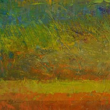 Michelle Calkins - Abstract Landscape Series - Golden Dawn