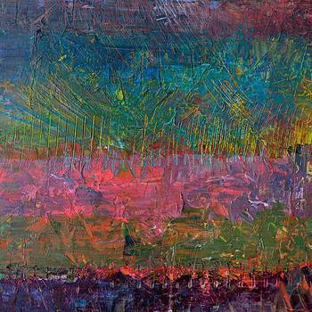 Michelle Calkins - Abstract Landscape Series - Wildflowers