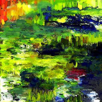 Abstract Landscape2 by Hema Rana