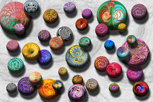 Mike Savad - Abstract - Marbles