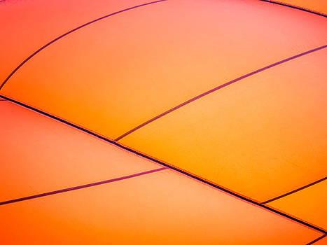 Abstract Orange by Caffrey Fielding