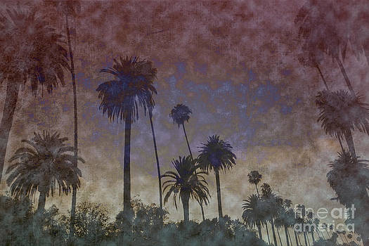 Abstract Palm Trees by Nina Prommer
