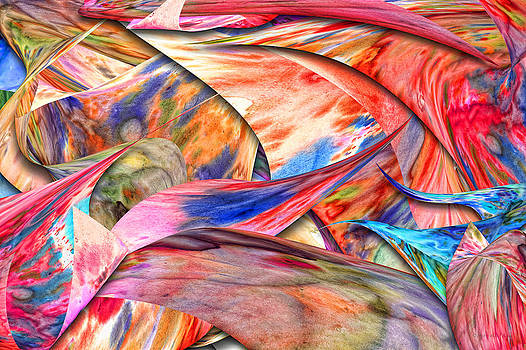 Mike Savad - Abstract - Paper - Origami