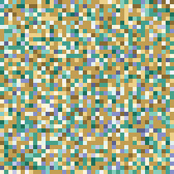 Abstract Pixels by Mike Taylor