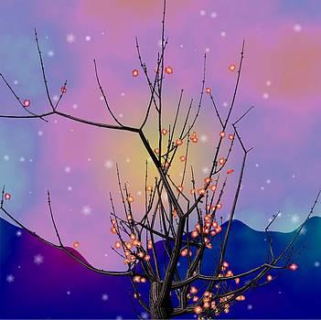Abstract plum by GuoJun Pan