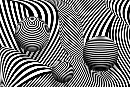 Mike Savad - Abstract - Poke out my eyes