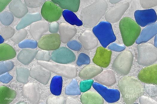 Barbara McMahon - Abstract Sea Glass