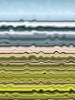 Michelle Calkins - Abstract Shoreline 3.0