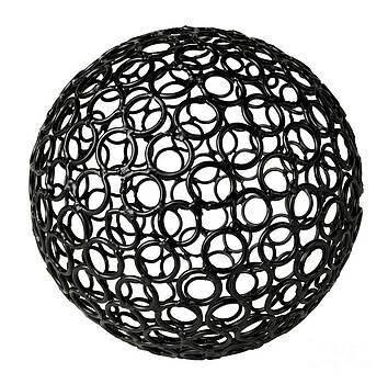 Abstract Sphere by Tony Cordoza