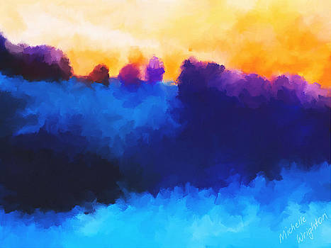 Michelle Wrighton - Abstract Sunrise Landscape