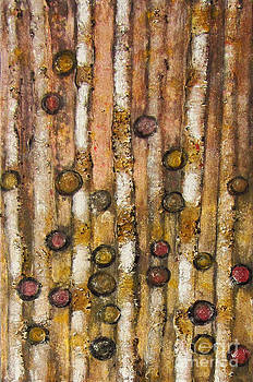Abstract tree -Twirling rainforest by Rosemary Lim