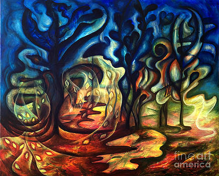Dancing Trees  by Gabriela  Taylor