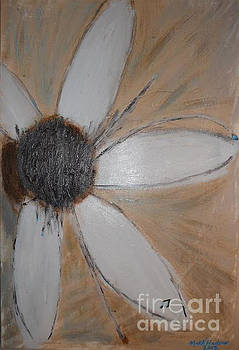 Abstract Wild Flower by Marcus Hudson