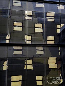 David Gordon - Abstract Window Reflections - NYC