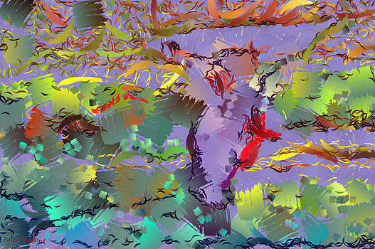 Abstract with colors by Tyler Robbins