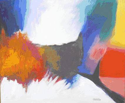 Abstract world by Samuel Daffa