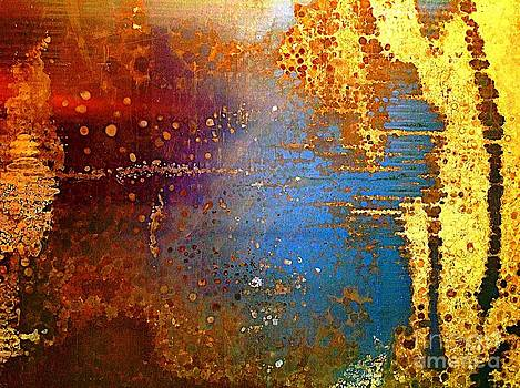 Abstracting thoughts  by Delona Seserman