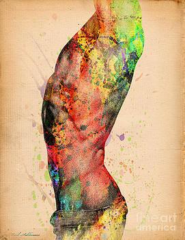 Abstractiv Body - 3 by Mark Ashkenazi