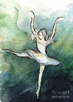 Ac293 Ballet Dancer by Kirohan Art