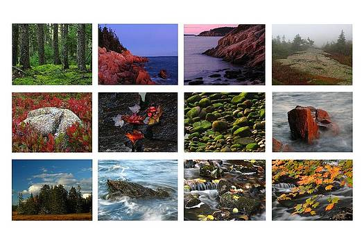 Juergen Roth - Acadia National Park Greetings