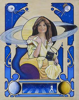 Across the Universe - Carolyn Porco by Simon Kregar