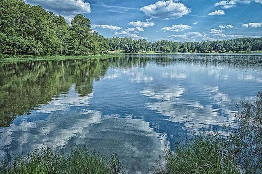 Acworth Lake. GA. by Oleg Koryagin