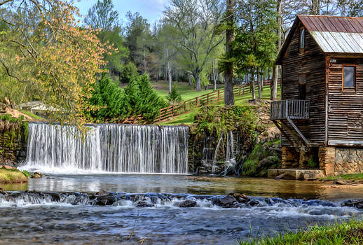 Adairs Mill by Bob Jackson