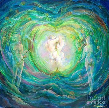 Adam and Eve by Vladimir Nazarov