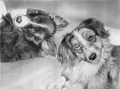 Addie and Skye by Alison Brush