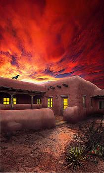Adobe Sunset by Ric Soulen