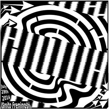 Advanced Abstract Maze by Yanito Freminoshi