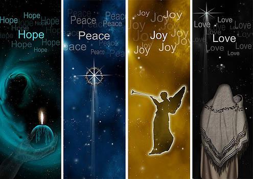 Advent Banner Series by Julie Rodriguez Jones
