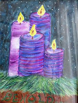 Advent Lights by Ann Whitfield