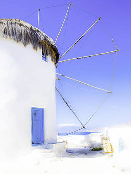 Aegean Wind Mill by F Icarus