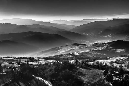 Aerial black and white by Andrea Bonavita