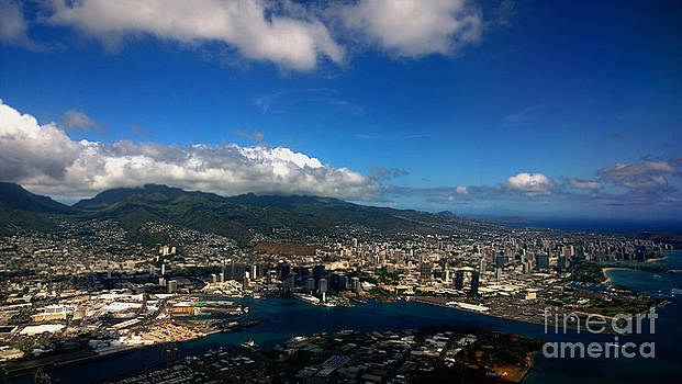 Cheryl Young - Aerial Pearl City  Honolulu