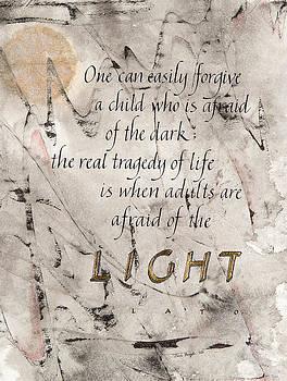 Afraid of the Light by Jan Boyd