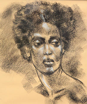 African American woman by Jay Herres