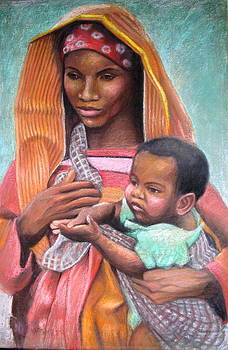 Janet McGrath - African Mother