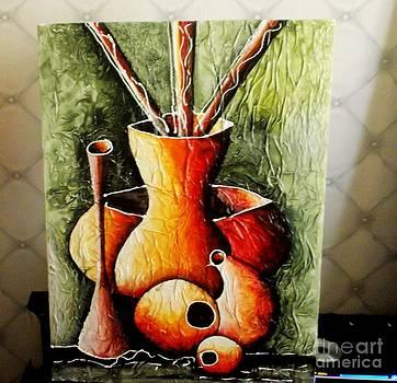 African Vases 2 by David Aruna
