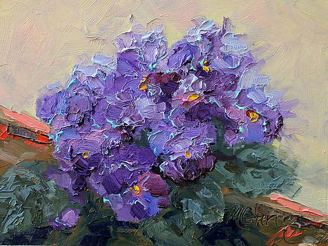 Marie Green - African Violets