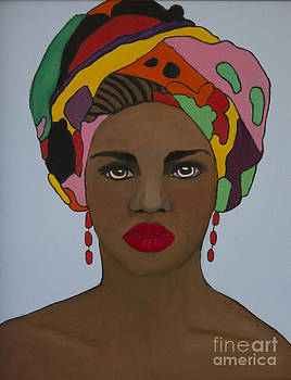 African Woman 2 by Kate Farrant