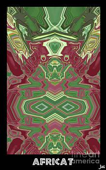 Africat I I by Geordie Gardiner